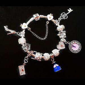 Pandora 925 Silver Cinderella Bracelet